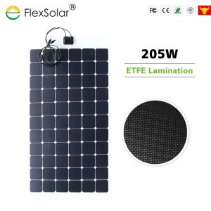 FlexSolar 205W Sunpower Flexible Solar Panel
